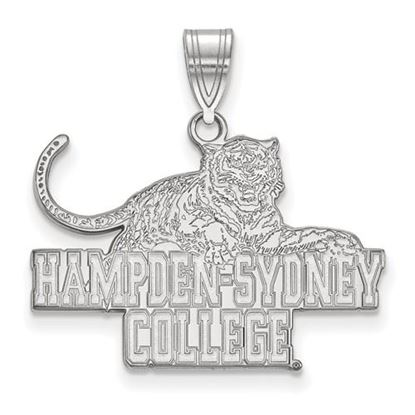 Picture of Hampden-Sydney College Tigers Sterling Silver Large Pendant