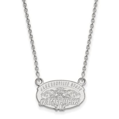 Picture of Jacksonville State University Gamecocks Sterling Silver Small Necklace