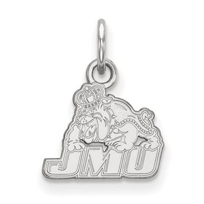 Picture of James Madison University Dukes Sterling Silver Extra Small Pendant