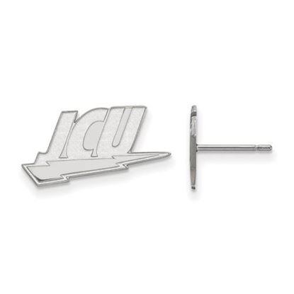 Picture of John Carroll University Blue Streaks Sterling Silver Small Post Earrings