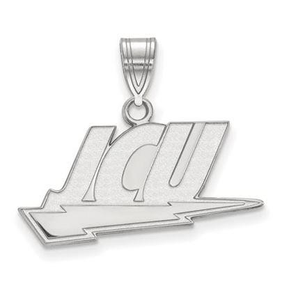 Picture of John Carroll University Blue Streaks Sterling Silver Large Pendant