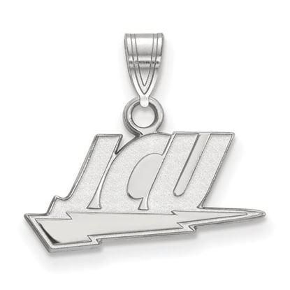 Picture of John Carroll University Blue Streaks Sterling Silver Small Pendant