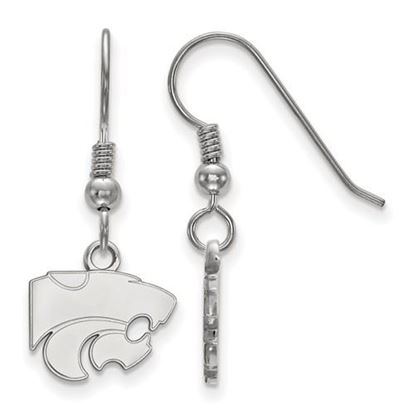Picture of Kansas State University Wildcats Sterling Silver Extra Small Dangle Earrings