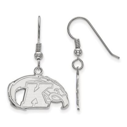 Picture of Kent State University Golden Flashes Sterling Silver Small Dangle Earrings
