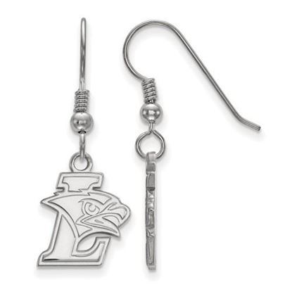Picture of Lehigh University Mountain Hawks Sterling Silver Small Wire Dangle Earrings