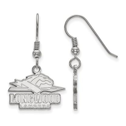Picture of Longwood University Lancers Sterling Silver Small Dangle Earrings