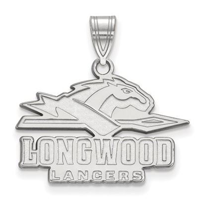 Picture of Longwood University Lancers Sterling Silver Medium Pendant