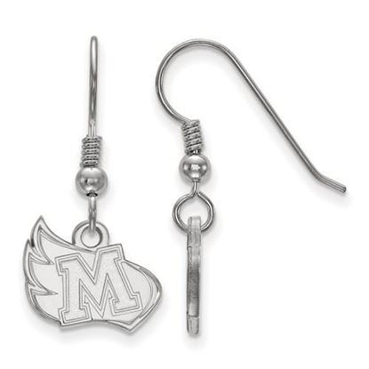 Picture of Meredith College Avenging Angels Sterling Silver Small Dangle Earrings