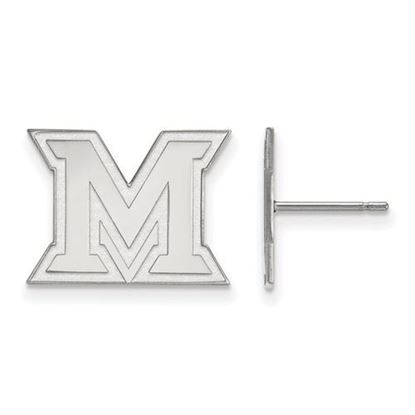 Picture of Miami University Redhawks Sterling Silver Small Post Earrings