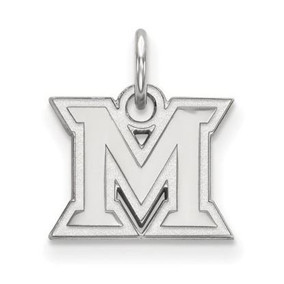 Picture of Miami University Redhawks Sterling Silver Extra Small Pendant