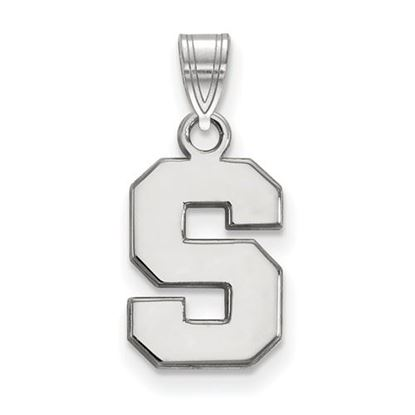 Picture of Michigan State University Spartans Sterling Silver Small Pendant