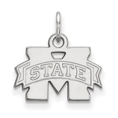 Picture of Mississippi State University Bulldogs Sterling Silver Extra Small Pendant
