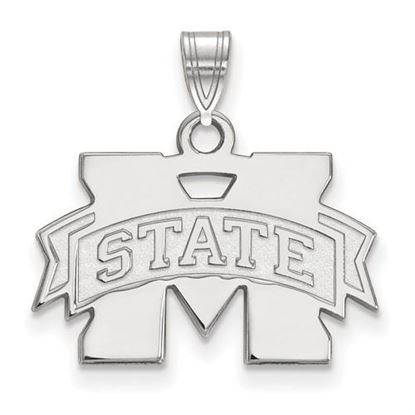 Picture of Mississippi State University Bulldogs Sterling Silver Small Pendant