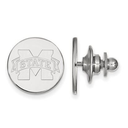 Picture of Mississippi State University Bulldogs Sterling Silver Lapel Pin
