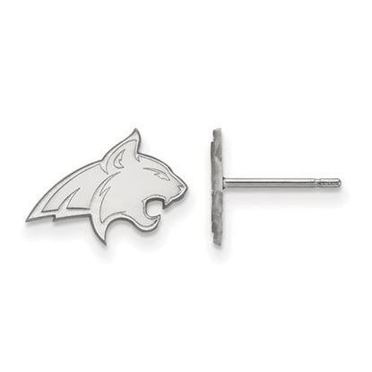 Picture of Montana State University Bobcats Sterling Silver Extra Small Post Earrings