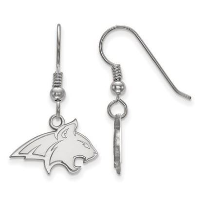 Picture of Montana State University Bobcats Sterling Silver Small Dangle Earrings