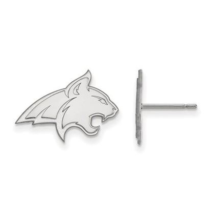 Picture of Montana State University Bobcats Sterling Silver Small Post Earrings