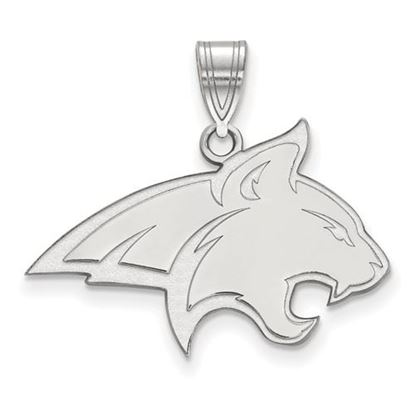 Picture of Montana State University Bobcats Sterling Silver Large Pendant
