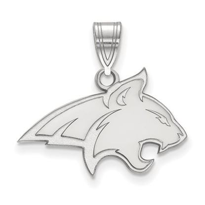 Picture of Montana State University Bobcats Sterling Silver Medium Pendant