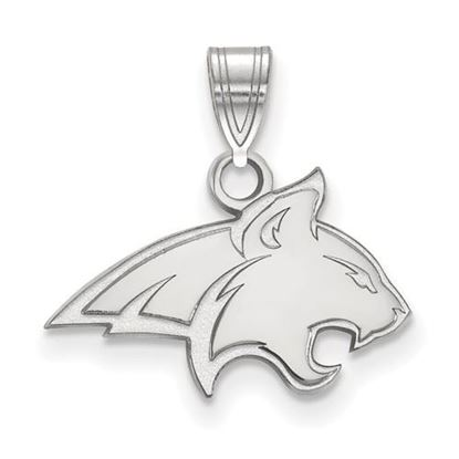 Picture of Montana State University Bobcats Sterling Silver Small Pendant