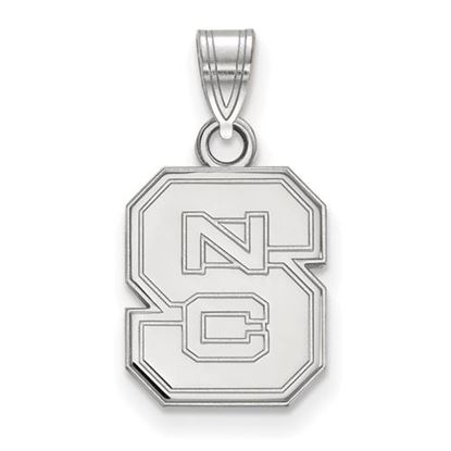 Picture of North Carolina State University Woldpack Sterling Silver Small Pendant