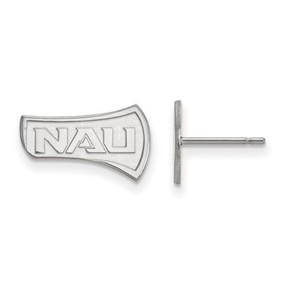 Picture of Northern Arizona University Lumberjacks Sterling Silver Small Post Earrings