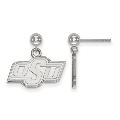 Picture of Oklahoma State University Cowboys Sterling Silver Dangle Earrings