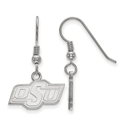 Picture of Oklahoma State University Cowboys Sterling Silver Extra Small Dangle Earrings