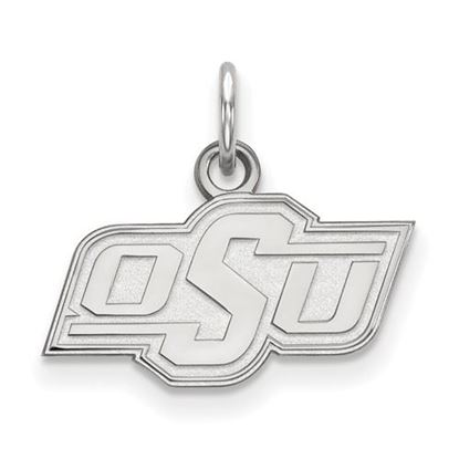 Picture of Oklahoma State University Cowboys Sterling Silver Extra Small Pendant