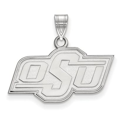 Picture of Oklahoma State University Cowboys Sterling Silver Small Pendant