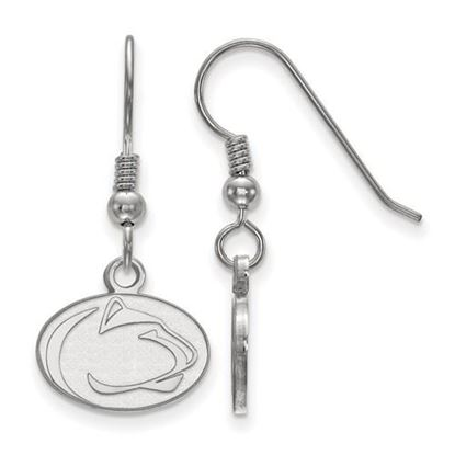 Picture of Penn State University Nittany Lions Sterling Silver Extra Small Dangle Earrings