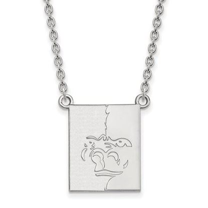 Picture of Pittsburgh State University Gorillas Sterling Silver Large Necklace