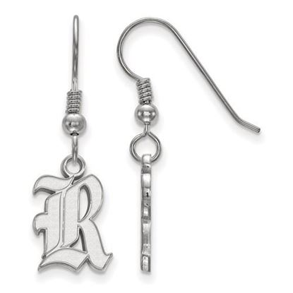 Picture of Rice University Owls Sterling Silver Small Dangle Earrings