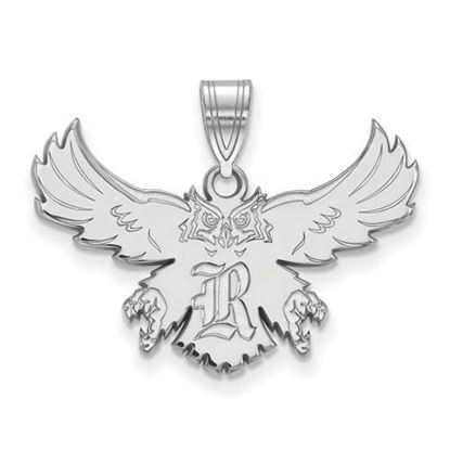 Picture of Rice University Owls Sterling Silver Large Pendant