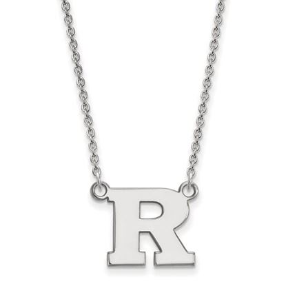 Picture of Rutgers University Scarlet Knights Sterling Silver Small Necklace