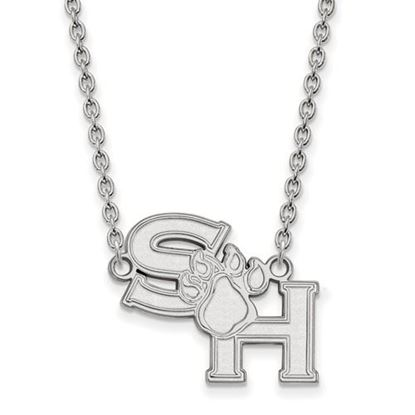 Picture of Sam Houston State University Bearkats Sterling Silver Large Necklace