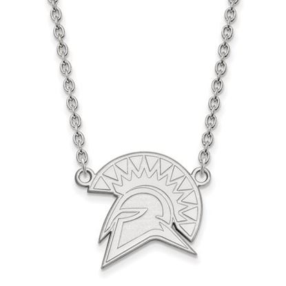 Picture of San Jose State University Spartans Sterling Silver Large Necklace