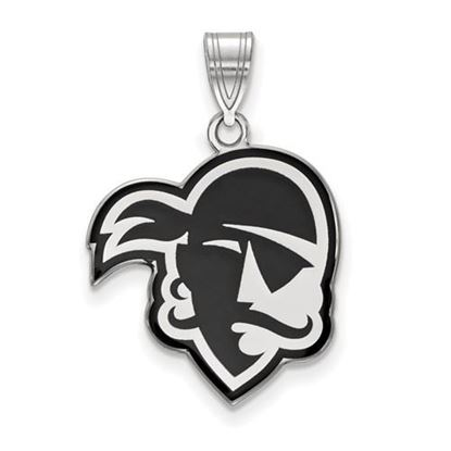 Picture of Seton Hall University Pirates Sterling Silver Large Enameled Pendant