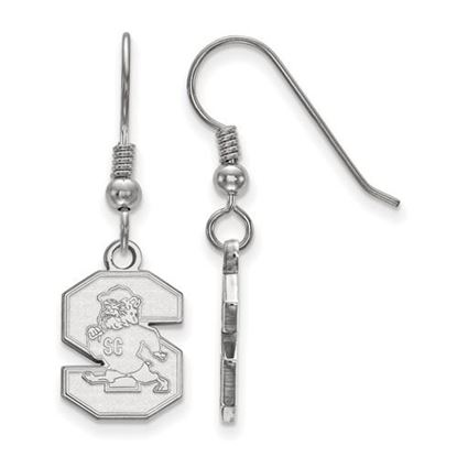 Picture of South Carolina State University Bulldogs Sterling Silver Small Dangle Earrings