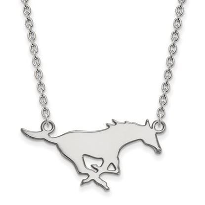 Picture of Southern Methodist University Mustangs Sterling Silver Large Necklace