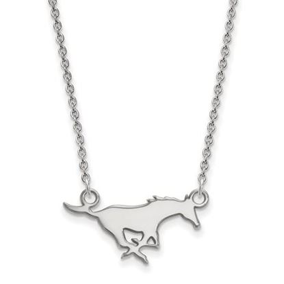 Picture of Southern Methodist University Mustangs Sterling Silver Small Necklace