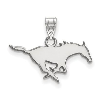 Picture of Southern Methodist University Mustangs Sterling Silver Small Pendant
