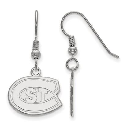 Picture of St. Cloud State University Huskies Sterling Silver Small Dangle Earrings