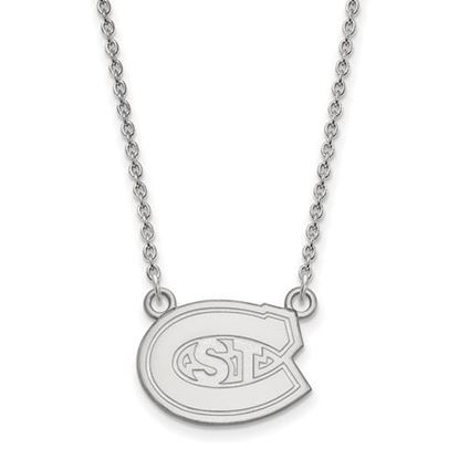 Picture of St. Cloud State University Huskies Sterling Silver Small Necklace