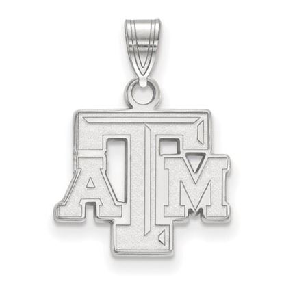 Picture of Texas A&M University Aggies Sterling Silver Small Pendant