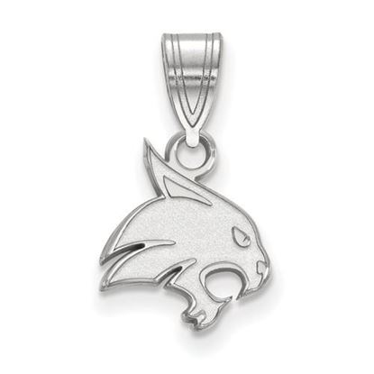 Picture of Texas State University Bobcats Sterling Silver Small Pendant