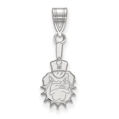 Picture of The Citadel Bulldogs Sterling Silver Medium Pendant