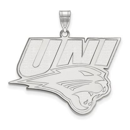 Picture of University of Northern Iowa Panthers Sterling Silver Extra Large Pendant