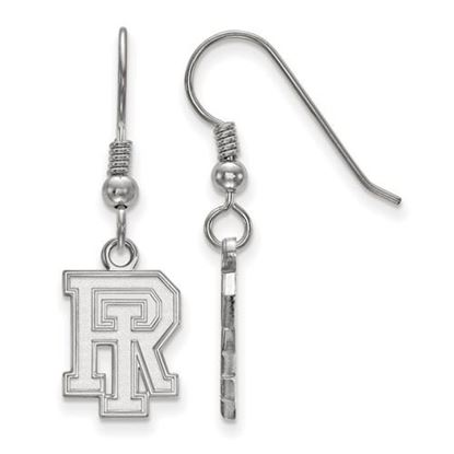 Picture of University of Rhode Island Rams Sterling Silver Small Dangle Earrings