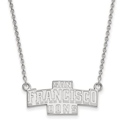Picture of University of San Francisco Dons Sterling Silver Small Necklace
